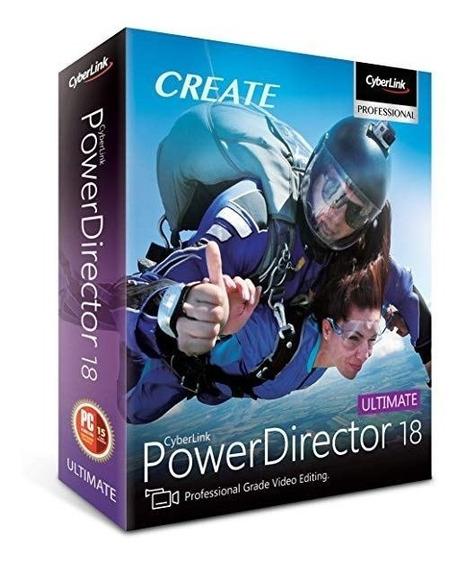 Powerdirector Ultimate 18 (versão 2020)