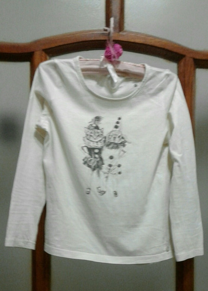 Remera Manga Larga Little Akiabara T6
