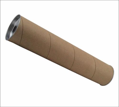 Imagen 1 de 3 de 10 Pzas Tubo Portaplano De Cartón Kraf  65 X 6.7 Cm