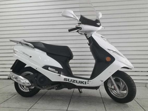 Suzuki Burgman 125i Branca