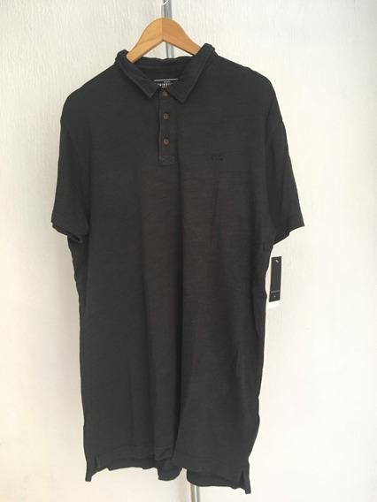 Camiseta Tipo Polo Quicksilver 2xl Nueva/original