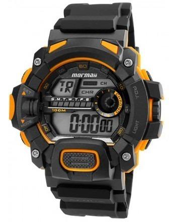 Relógio Mormaii Mo1132ae/8y Mo1132ae 8y Preto Amarelo