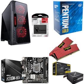 Pc Lumia Pentium G5400 Mb H310m Hg4 Vg 16gb Vs400 Ssd 120gb