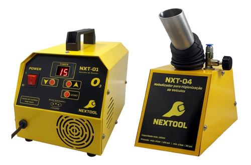Nxt-01 Gerador De Ozônio Para Automóveis + Nebulizador
