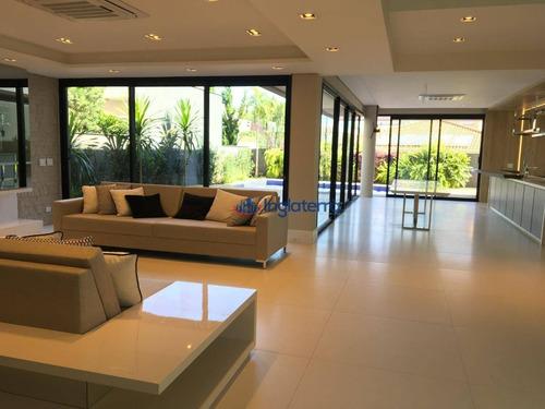 Casa À Venda, 497 M² Por R$ 4.600.000,00 - Acácia Imperial - Londrina/pr - Ca1706