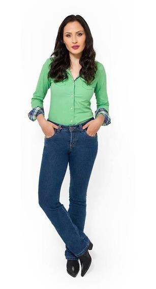 Calça Jeans Feminina Country Destroyer Pura Raça 4540