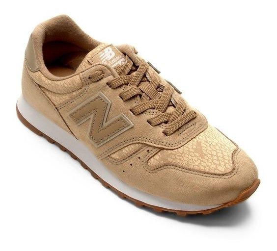 New Balance 38 Dourado W373 Feminino