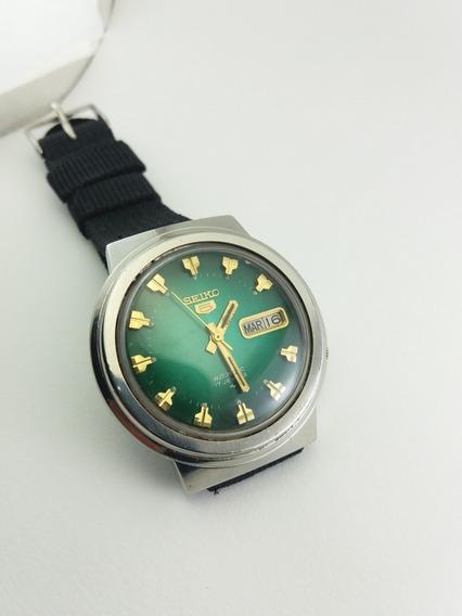 Relógio Seiko 7009 8190 Verde