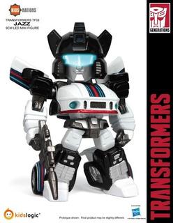 Transformers Kids Logic Nations Jazz Tf03 1rst Generation G1
