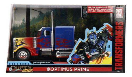 Imagem 1 de 10 de Veiculo Transformers Optimus Prime 1 1/24