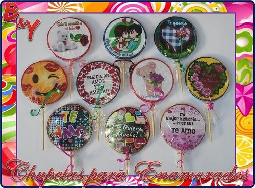 Imagen 1 de 7 de Chupetas Personalizadas, Chupetas Con Formas, Cotillón