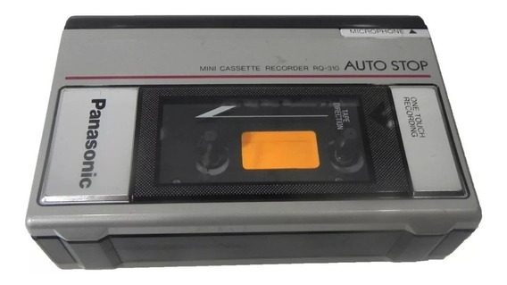 Mini Cassette Recorder Panasonic Rq-310 Retirada De Peças