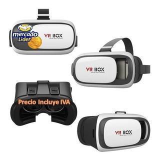Gafas Vr Box Realidad Virtual 3d Celular Nuevas