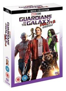 Guardianes De La Galaxia I & Ii 2 Blu Ray Importado Nuevo
