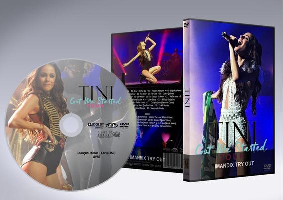 Dvd - Tini Stoessel: Got Me Started Tour - São Paulo/brasil
