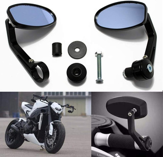 espejos retrovisores para Honda Harley Yamaha Kawasaki Suzuki Dirt Bike Custom Touring Bobber Espejos redondos universales de 4 pulgadas para motocicleta