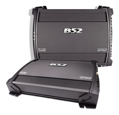 Amplificador B52 Rc1404 Amp 4c 1400w