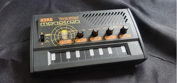 Korg Monotron Delay Mini Sintetizador Analógico Portátil