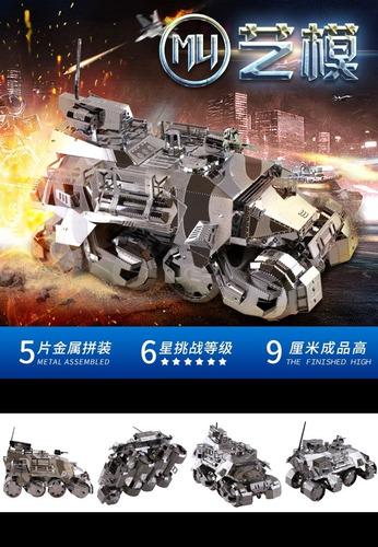 Tanque Iron Pionner Maqueta Metalicas P/armar Mu