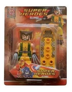 Muñecos Superheroes Aliance
