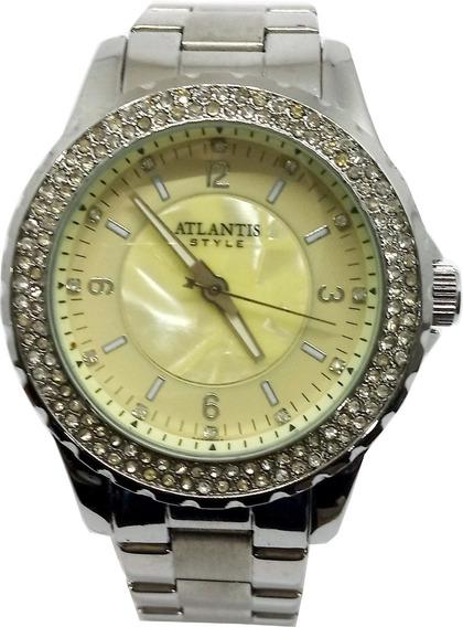 Relógio Atlantis Feminino Com Strass