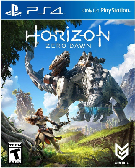 Platina: Horizon Zero Dawn: Playstation 4.