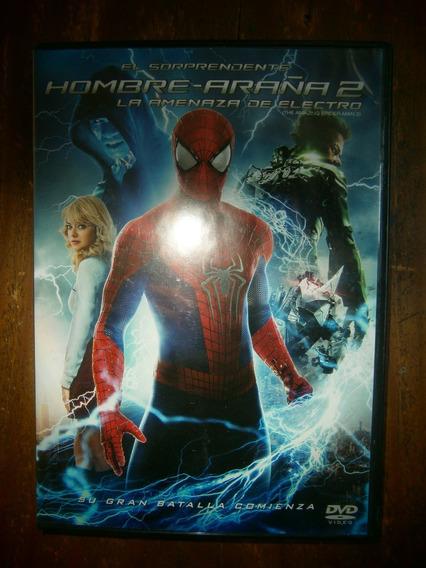El Sorprendente Hombre Araña 2 Dvd Emma Stone Andrw Garfield