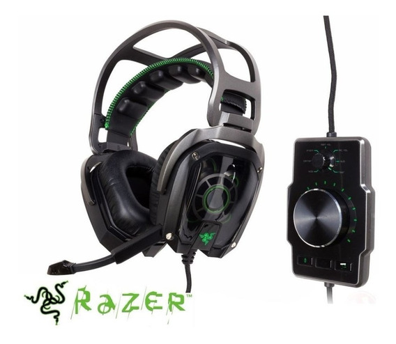 Headset Razer Tiamat 7.1 V2 Analógico Digital
