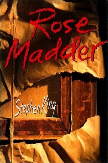 Livro Rose Madder 1ª Edição Stephen King