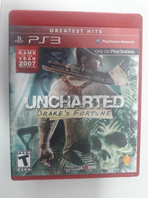Jogo Ps3 Uncharted 1 Drake