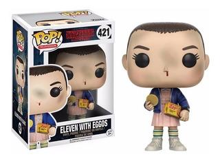 Eleven With Eggos Funko Pop Stranger Things Netflix Serie Tv