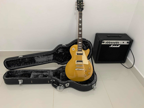 EpiPhone Les Paul Tradiotional Pro Con Amp Marshall