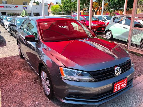 Volkswagen Jetta 2.0l Tm5 2016 Credito Recibo Auto Financiam
