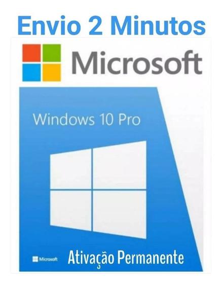 Windows 10 Pro Chave Licença Original Ativa Online 32\64bits