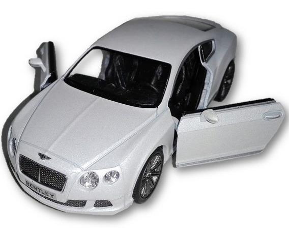 Bentley Continental 2012 Gt Speed Kinsmart 1/38 Diecast