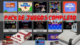 Coleccion Nintendo Nes / Family Completa! 650 Juegos Retro