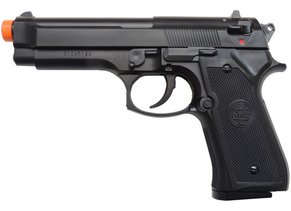 Pistola De Airsoft Spring Kwc M92 Modelo Beretta 92 Non Hop