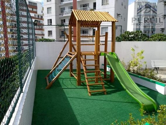 Apartamento Para Venda Em Salvador, Cidade Jardim, 3 Dormitórios, 1 Suíte, 3 Banheiros, 2 Vagas - 343