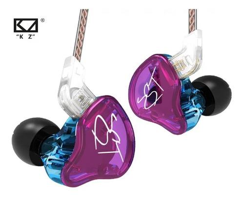 Audífonos Inear Kz Zst Pro Monitores Hifi Original + Estuche