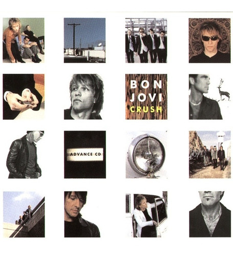 Bon Jovi - Crush (cd)   Mercado Livre