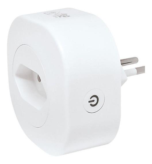 Tomada Inteligente I2go Smart Home Wifi Comp C/ Alexa Branco