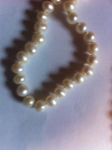Collar De Perlas Autenticas Cultivadas A Precio De Mayoreo