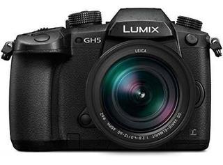 Cámara Panasonic Lumix Gh5 Con Calidad 4k + 5 Ejes Dual I.s