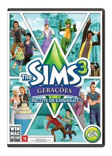 The Sims 3 Gerações Pc Midia Fisica Original