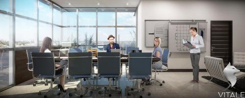 Imagen 1 de 18 de Piso De Oficinas En Construccion Con Cochera Centro