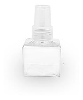 Envase De Plástico Cuadrado X 70 Cc C/ Válvula - Perfumero