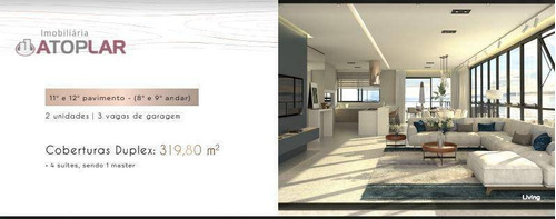Cobertura À Venda, 319 M² Por R$ 4.290.000,00 - Praia Brava - Itajaí/sc - Co0182
