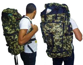 Kit 3 Mochila De Camping Militar Impermeável Viagem Trilha
