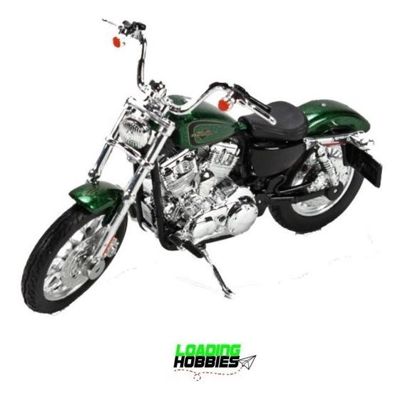 Moto Harley Davidson Xl 1200v 2013 Maisto Escala 1:12