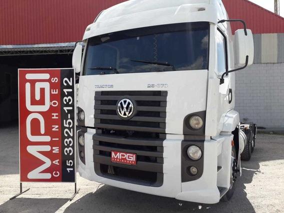 Vw 25370 6x2 2009 Motor Scania 360! R$95.000